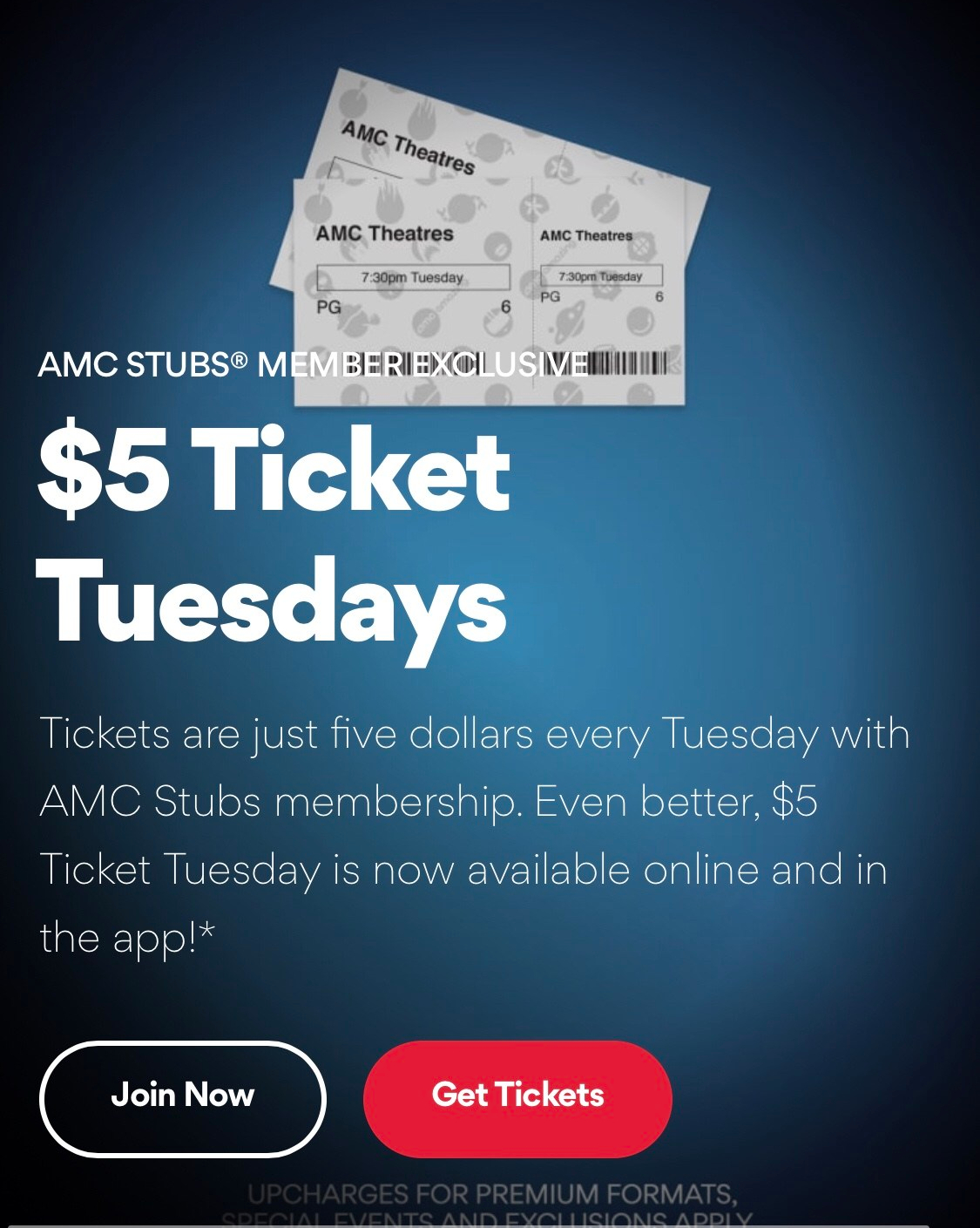 $5 Movie Tuesdays at AMC & Cinemark theaters – Things be Different